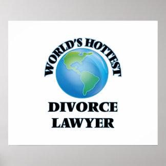 World's Hottest Divorce Lawyer Print