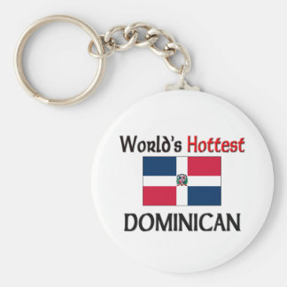 World's Hottest Dominican Keychain
