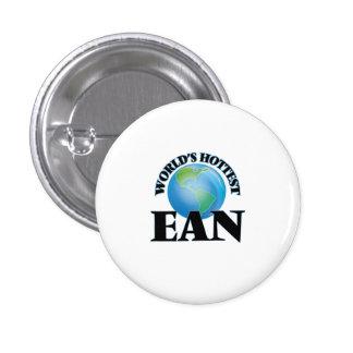 World's Hottest Ean Pinback Button