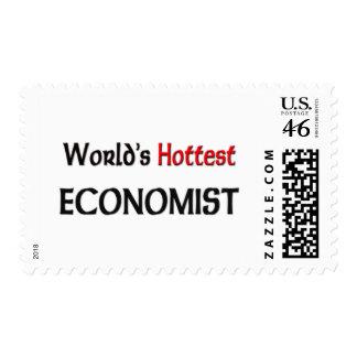 Worlds Hottest Economist Postage Stamp