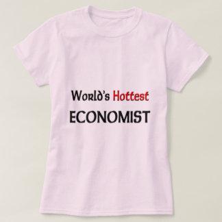 Worlds Hottest Economist Tee Shirt