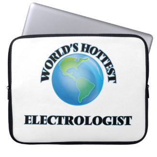 World's Hottest Electrologist Laptop Sleeves