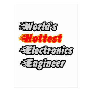 World's Hottest Electronics Engineer Postcard