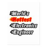 World's Hottest Electronics Engineer Postcards
