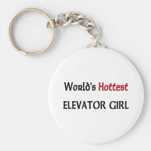 Worlds Hottest Elevator Girl Key Chains