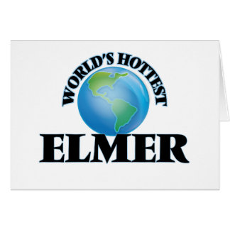 World's Hottest Elmer Stationery Note Card