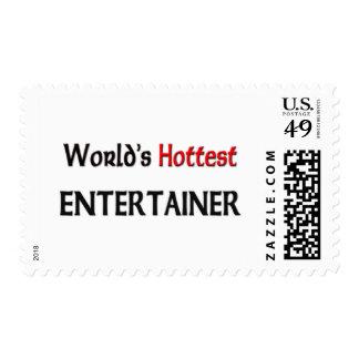 Worlds Hottest Entertainer Postage