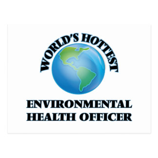 World's Hottest Environmental Health Officer Postcard