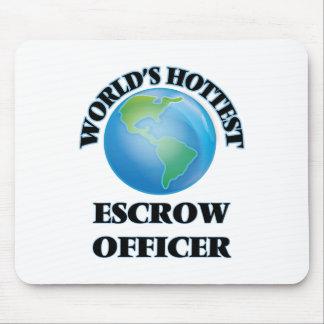 World's Hottest Escrow Officer Mousepads