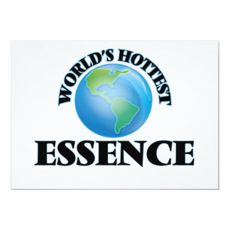 World's Hottest Essence Personalized Announcements