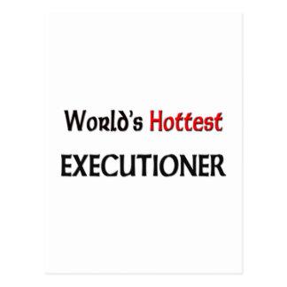 Worlds Hottest Executioner Postcard