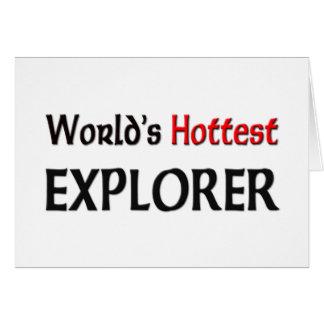 Worlds Hottest Explorer Cards