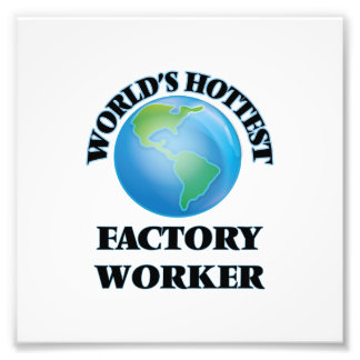 World's Hottest Factory Worker Photo