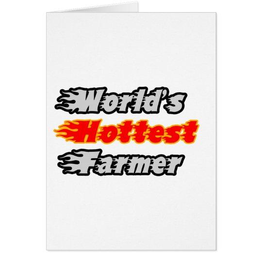 World's Hottest Farmer Card