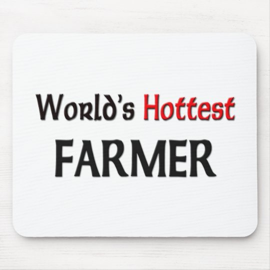 Worlds Hottest Farmer Mouse Pad