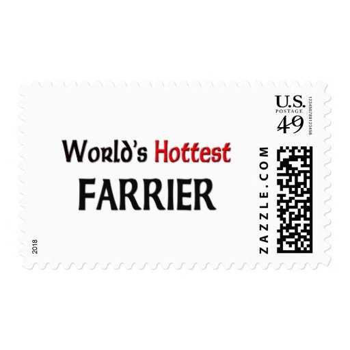 Worlds Hottest Farrier Postage Stamps