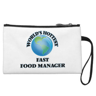 World's Hottest Fast Food Manager Wristlet Purses
