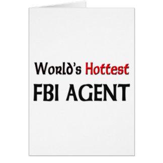 Worlds Hottest Fbi Agent Cards