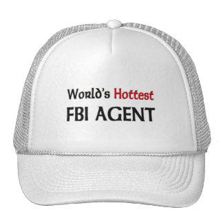 Worlds Hottest Fbi Agent Hat
