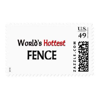 Worlds Hottest Fence Postage