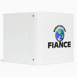 World's Hottest Fiance Vinyl Binder