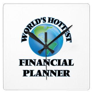 World's Hottest Financial Planner Clock