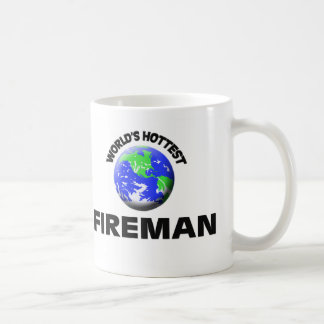 World's Hottest Fireman Coffee Mug