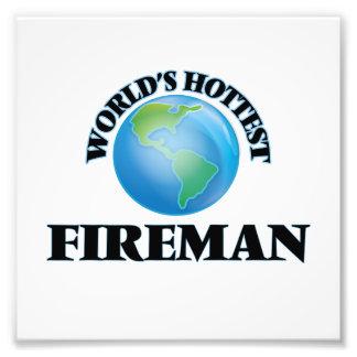 World's Hottest Fireman Photo