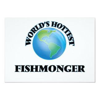 World's Hottest Fishmonger 5x7 Paper Invitation Card