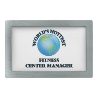 World's Hottest Fitness Center Manager Belt Buckles