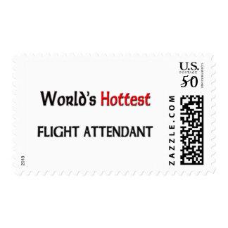 Worlds Hottest Flight Attendant Postage