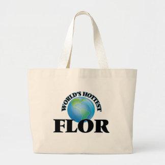 World's Hottest Flor Tote Bag