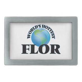 World's Hottest Flor Belt Buckles