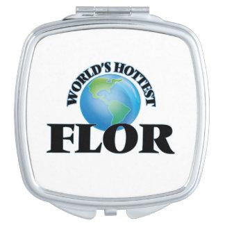 World's Hottest Flor Travel Mirror