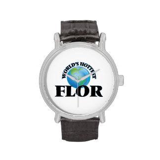 World's Hottest Flor Wristwatch
