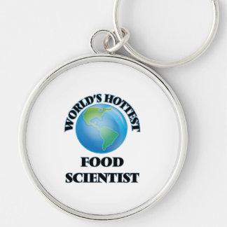 World's Hottest Food Scientist Keychain