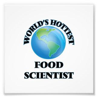 World's Hottest Food Scientist Photo Art