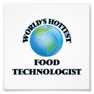 World's Hottest Food Technologist Photo Print