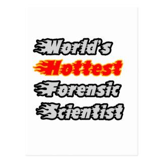 World's Hottest Forensic Scientist Postcard