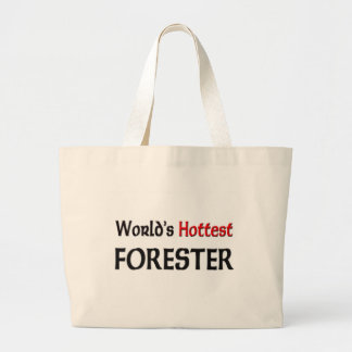 Worlds Hottest Forester Jumbo Tote Bag