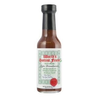 World's Hottest Friend Hot Pepper Sauce