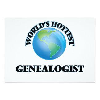 World's Hottest Genealogist Custom Announcements