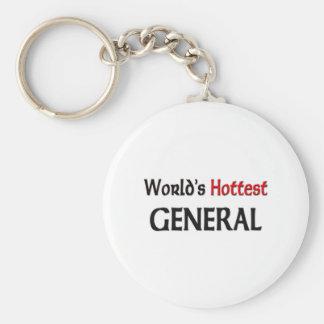 Worlds Hottest General Keychains