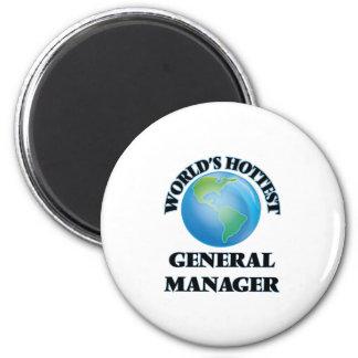 World's Hottest General Manager Refrigerator Magnet