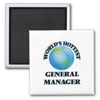 World's Hottest General Manager Fridge Magnets