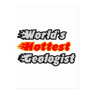 World's Hottest Geologist Postcard