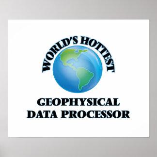 World's Hottest Geophysical Data Processor Poster