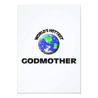 World's Hottest Godmother Invitations