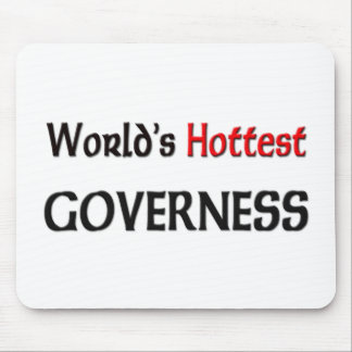 Worlds Hottest Governess Mouse Mats