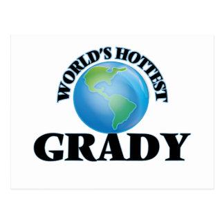 World's Hottest Grady Postcards